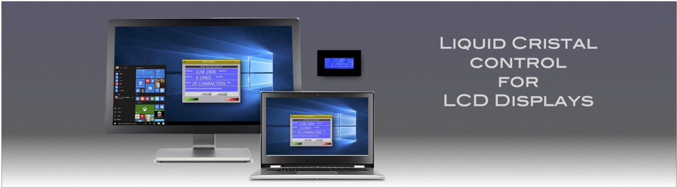 PowerBerry Application for LCD control - Liquid Cristal